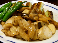 比内地鶏マイスターを目指す店長の日本一の比内地鶏ブログ-比内地鶏 鶏皮料理一品出来ました