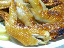 比内地鶏マイスターを目指す店長の日本一の比内地鶏ブログ-比内地鶏の手羽先焼き