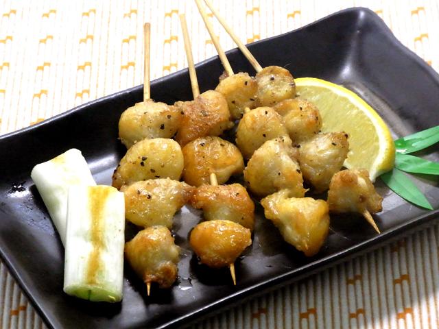 秋田の美味しい食べ方。比内地鶏ショップ名物店長の料理&釣りブログ-ぼんじり焼き鳥