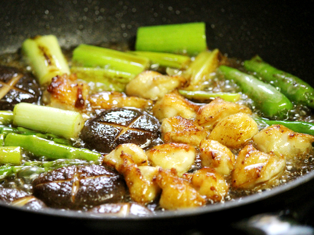 秋田の美味しい食べ方。比内地鶏ショップ名物店長の料理&釣りブログ-ぼんじり料理5