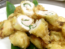 秋田の美味しい食べ方。比内地鶏ショップ名物店長の料理&釣りブログ-鶏天レシピ3