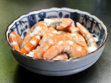 秋田の美味しい食べ方。比内地鶏ショップ名物店長の料理&釣りブログ-ピラフレシピ海老