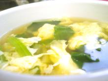 秋田の美味しい食べ方。比内地鶏ショップ名物店長の料理&釣りブログ-コンソメ卵スープ
